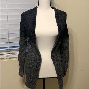 Theory long cardigan sweater